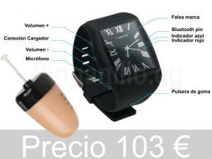 Pinganillo Reloj Vip Pro